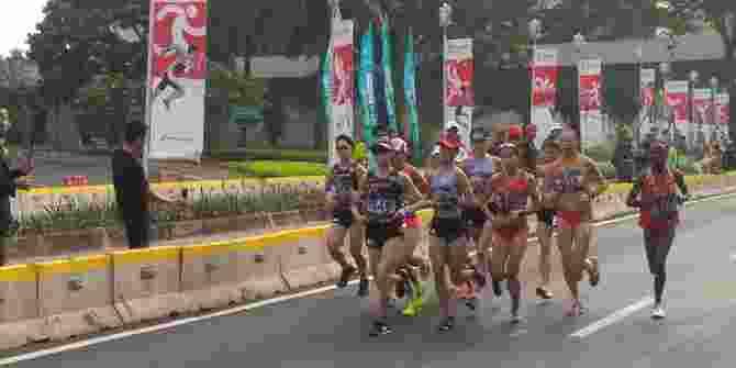Car Free Day Ditiadakan Untuk Maraton Asian Games
