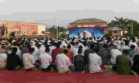 Narapidana Rutan Klas I Tangerang Rayakan Idul Adha