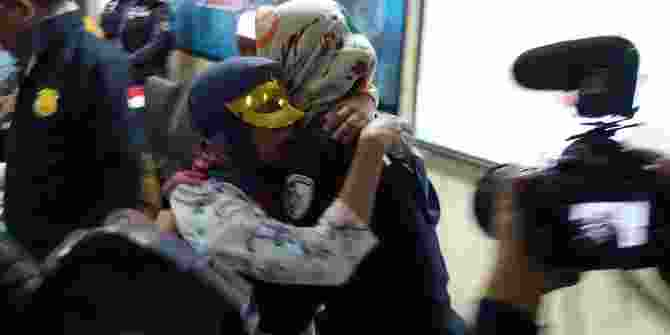 Kepulangan Perempuan Korban Perdagangan Manusia Di Malaysia