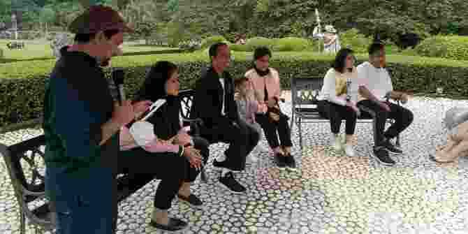 Jokowi Dan Gibran Mengakui Dikenal Publik Karena Peran Media
