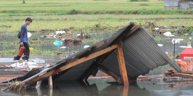 Hunian Korban Tsunami Selat Sunda Butuh Dana 13 Miliar