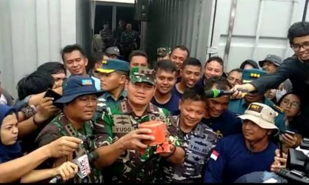 Temukan CVR Lion Air Ucapkan Terima Kasih Pada Penyelam TNI