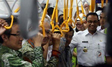 Anies Menyebutkan Harga Tarif MRT Relatif