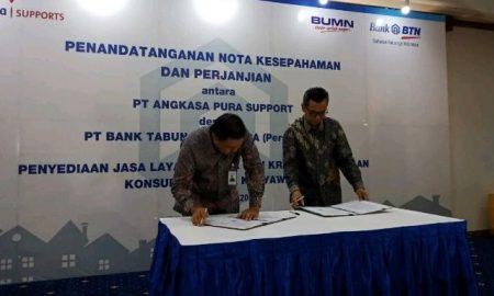 BTN Gaet Angkasa Pura Support untuk Dorong Kredit dan DPK
