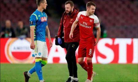 Karir Ramsey Bersama Arsenal Berakhir Lebih Dini