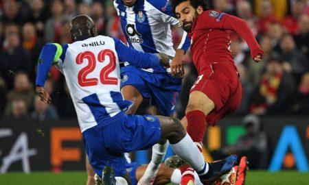 Salah Beruntung Tidak Mendapat Kartu Merah Ketika Menghadapi Porto