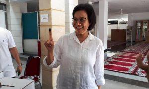 Sri Mulyani Menanggapi Tentang Hijaunya IHSG dan Rupiah Usai Pilpres