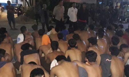 91 Pelajar Tangerang Diamankan Polisi Saat Hendak Tawuran