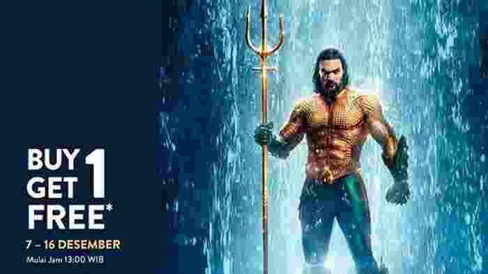 Promo Nonton Film Aquaman Dari TIX ID