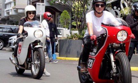 Artis Indonesia Ini Bakal Pergi ke Luar Negeri Naik Motor