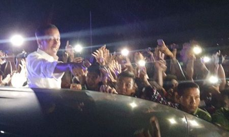 Jokowi Bercerita Kampanye di Sorong yang Hampir Tengah Malam