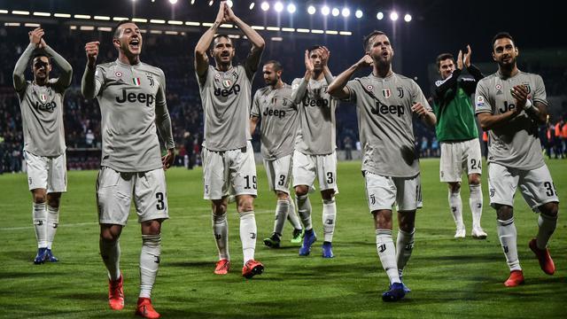 Ronaldo Akan Menepi di Laga Penentuan Juara Juventus