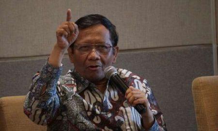 Mahfud Minta Kedua Pihak Paslon Menanti Hasil dari KPU