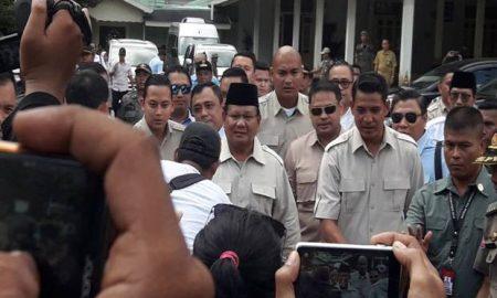 Prabowo Subianto Menemui Sultan Hamengkubuwono X