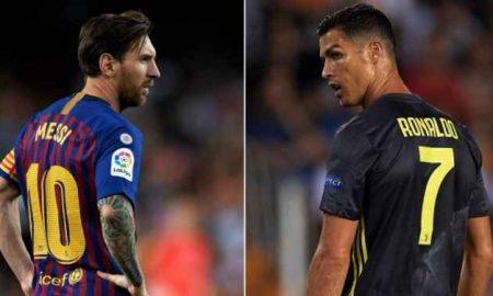 Ronaldo Belum Menjangkau Lionel Messi Soal Tendangan Bebas