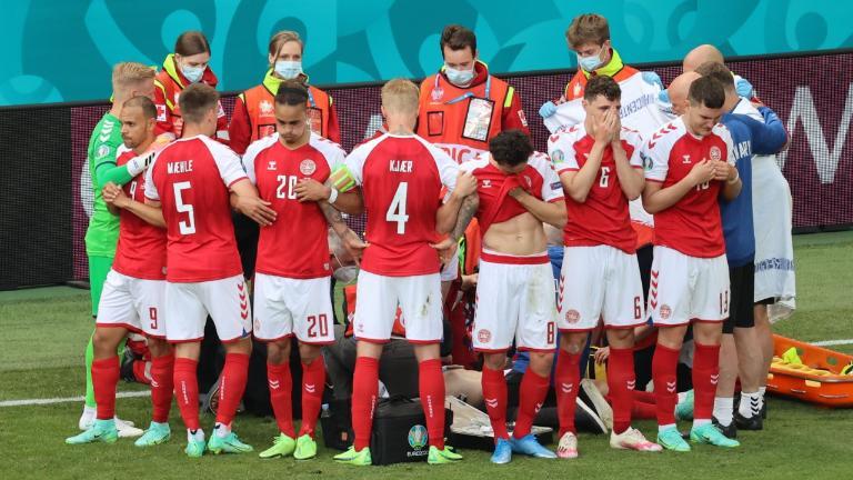 Chirstian Eriksen Diduga Serangan Jatung Pertandingan Denmark vs Finlandia Dihentikan