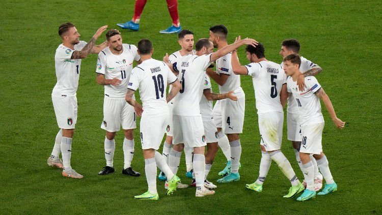 Hasil Pertandingan Euro 2020 Turki Vs Italia Di Akhiri Dengan Skor 0 - 3