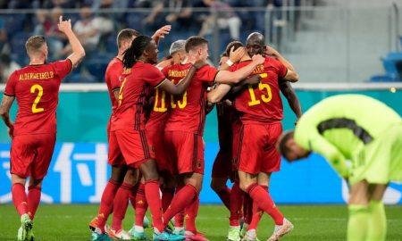 Lukaku Cetak Gol, Hasil Pertandingan Babak Pertama Belgia vs Rusia 3-0